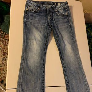 Miss Me Blue Denim Jeans JE5796E2R Size 30